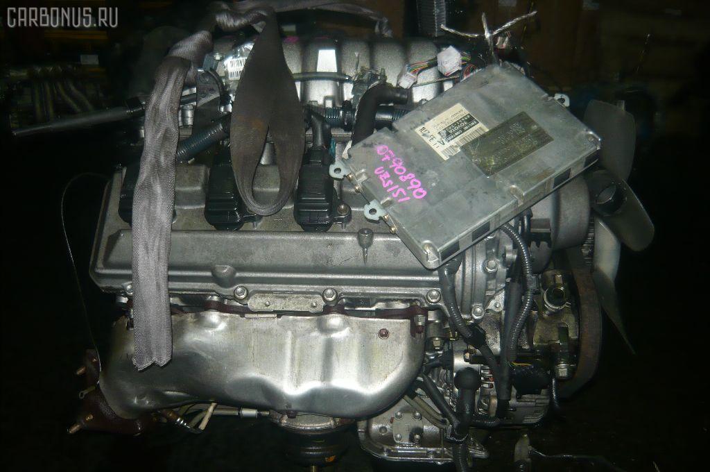 Двигатель TOYOTA CROWN MAJESTA UZS151 1UZ-FE. Фото 5