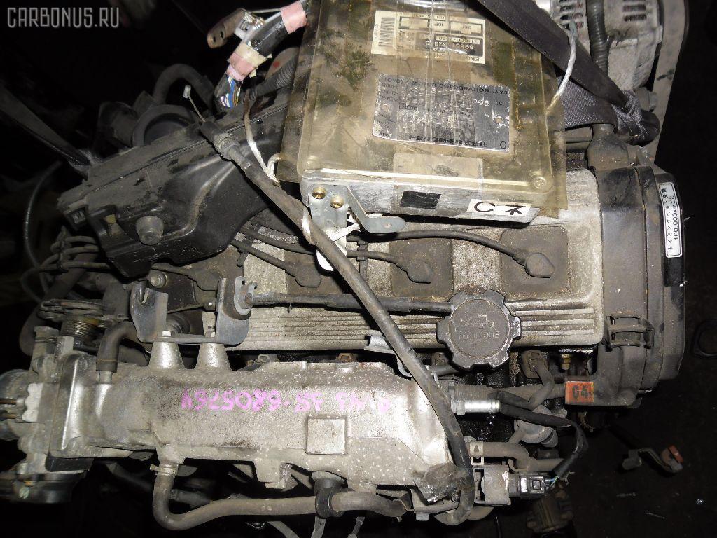 Двигатель TOYOTA VISTA SV35 3S-FE. Фото 6