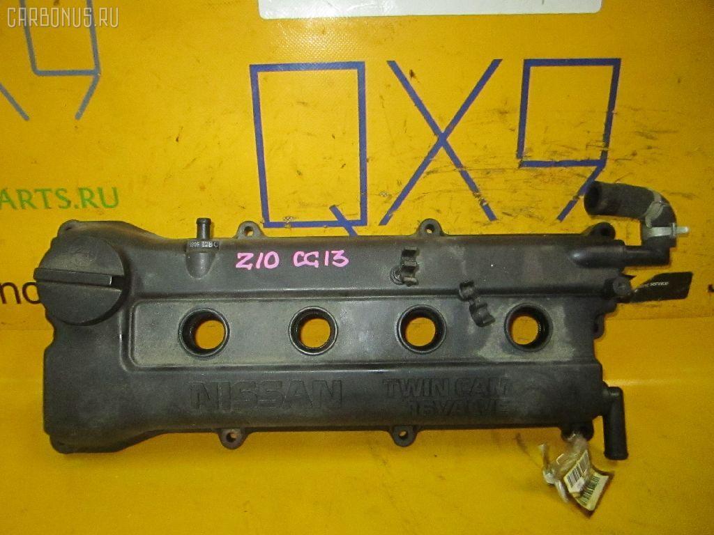 Клапанная крышка NISSAN K11 CG10-DE. Фото 3