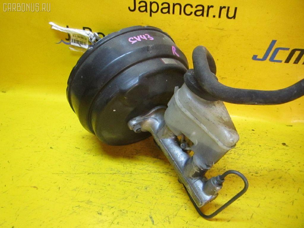Главный тормозной цилиндр TOYOTA SV43 3S-FE. Фото 2