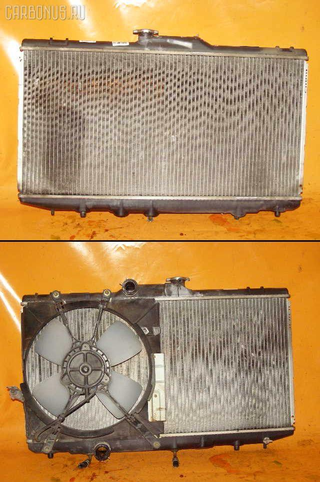 Радиатор ДВС TOYOTA COROLLA SPACIO AE115N 7A-FE. Фото 1