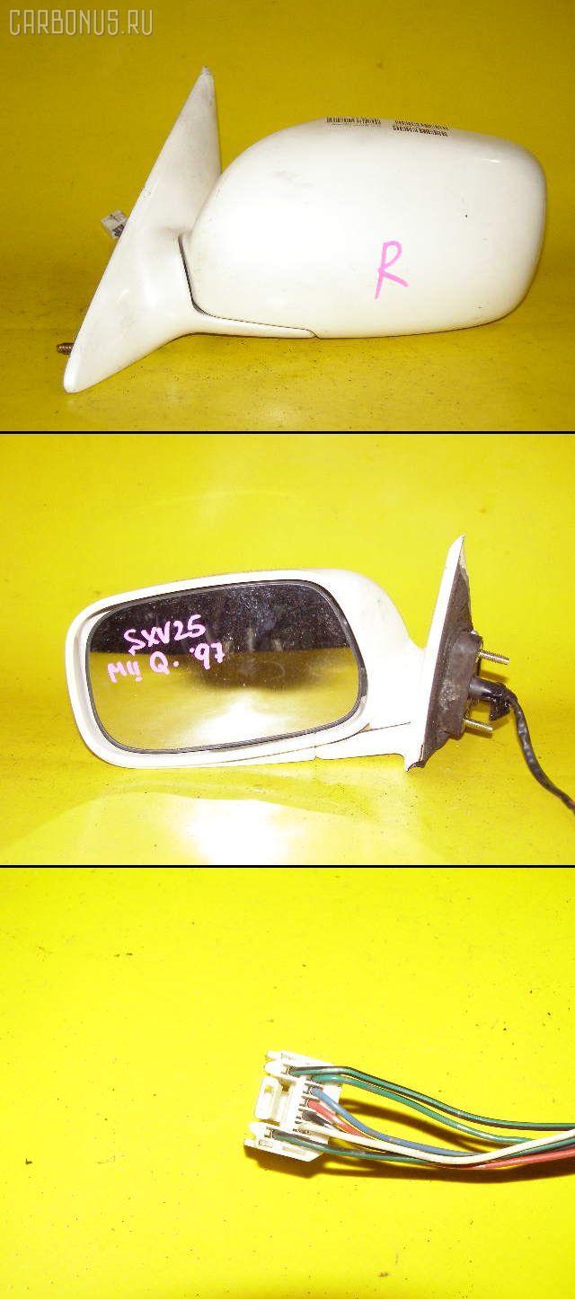 Зеркало двери боковой TOYOTA MARK II QUALIS SXV25W. Фото 7
