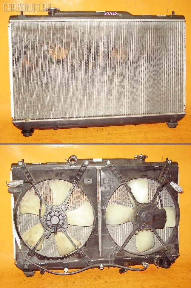 Радиатор ДВС TOYOTA MARK II QUALIS SXV25W 5S-FE. Фото 5