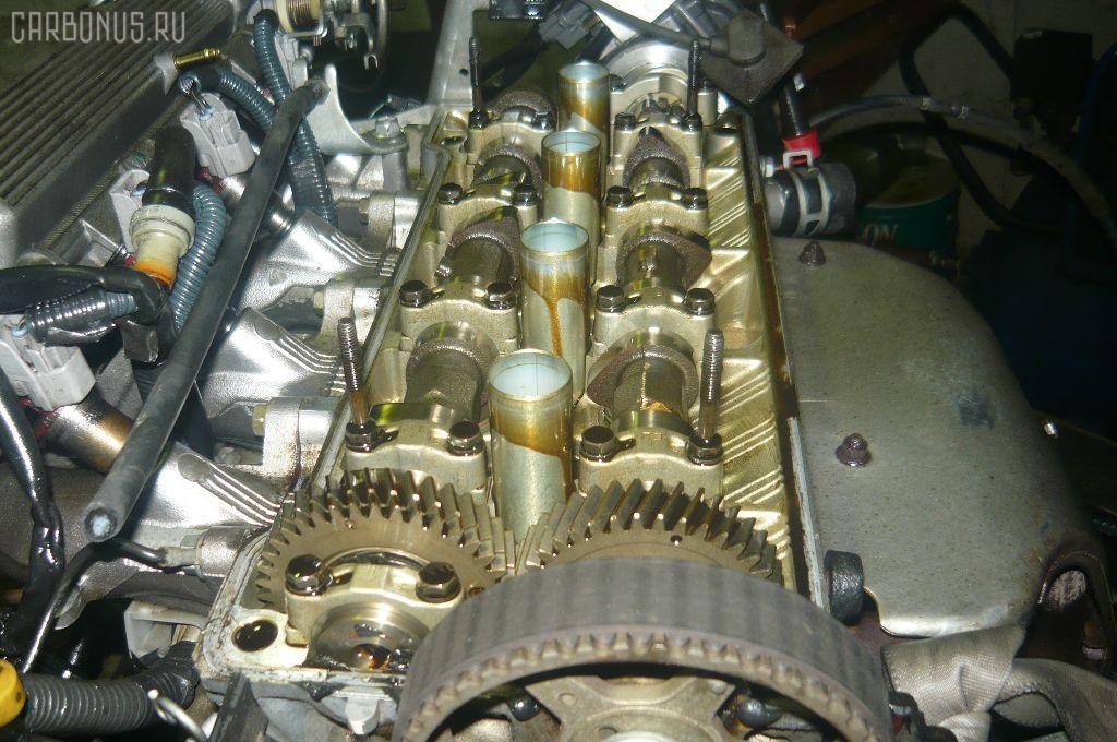 Двигатель TOYOTA SPRINTER CARIB AE115G 7A-FE. Фото 6