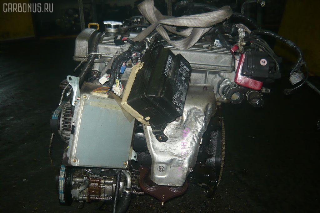 Двигатель TOYOTA SPRINTER CARIB AE115G 7A-FE. Фото 9