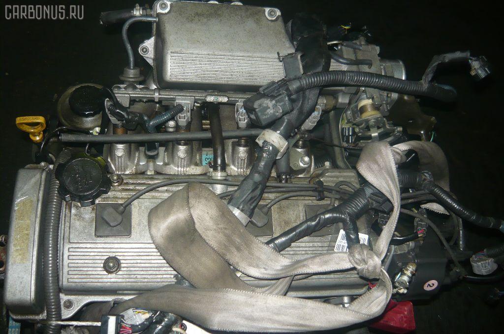 Двигатель TOYOTA SPRINTER CARIB AE115G 7A-FE. Фото 10