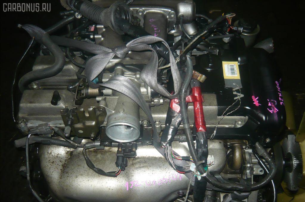 Двигатель TOYOTA MARK II JZX100 1JZ-GE. Фото 3