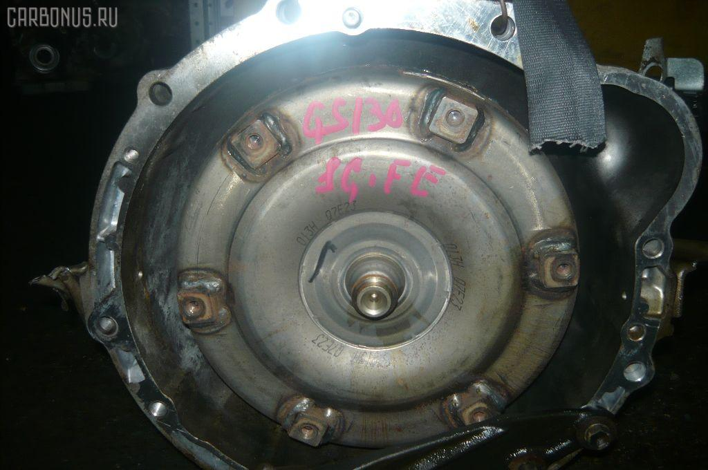 КПП автоматическая TOYOTA CROWN WAGON GS130G 1G-FE. Фото 1