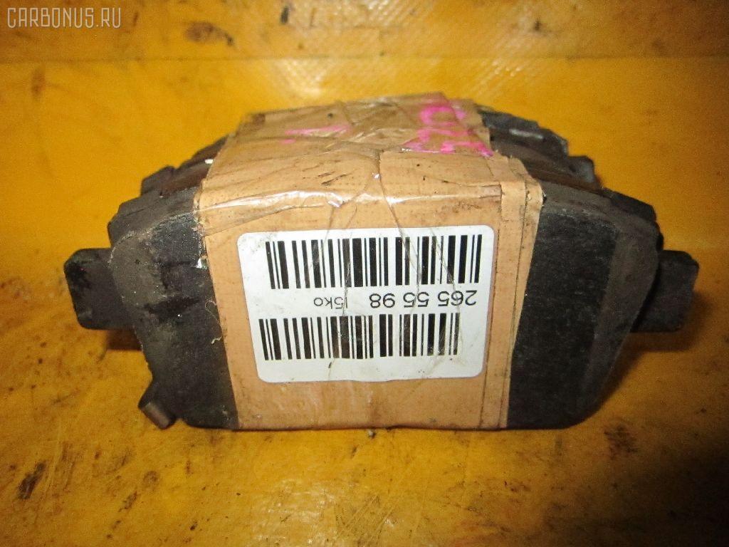 Тормозные колодки TOYOTA FUNCARGO NCP25 1NZ-FE. Фото 2