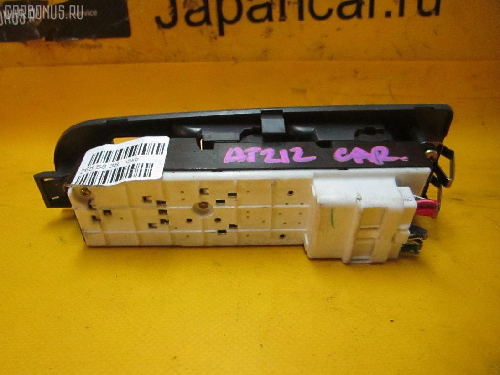 Блок упр-я стеклоподъемниками TOYOTA CARINA AT212. Фото 2