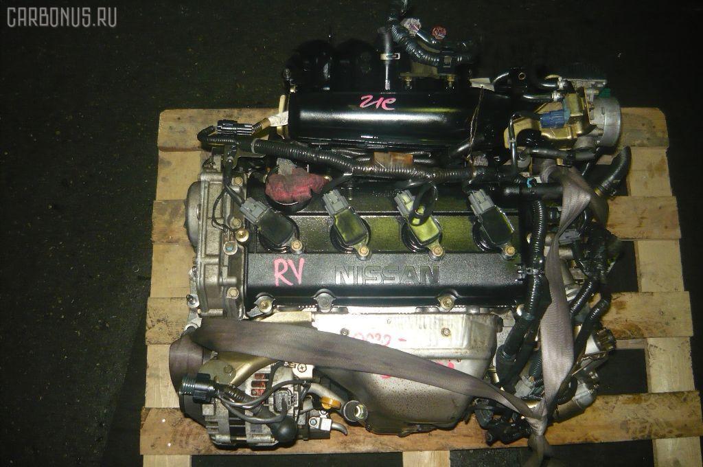 Двигатель NISSAN LIBERTY RNM12 QR20DE. Фото 4