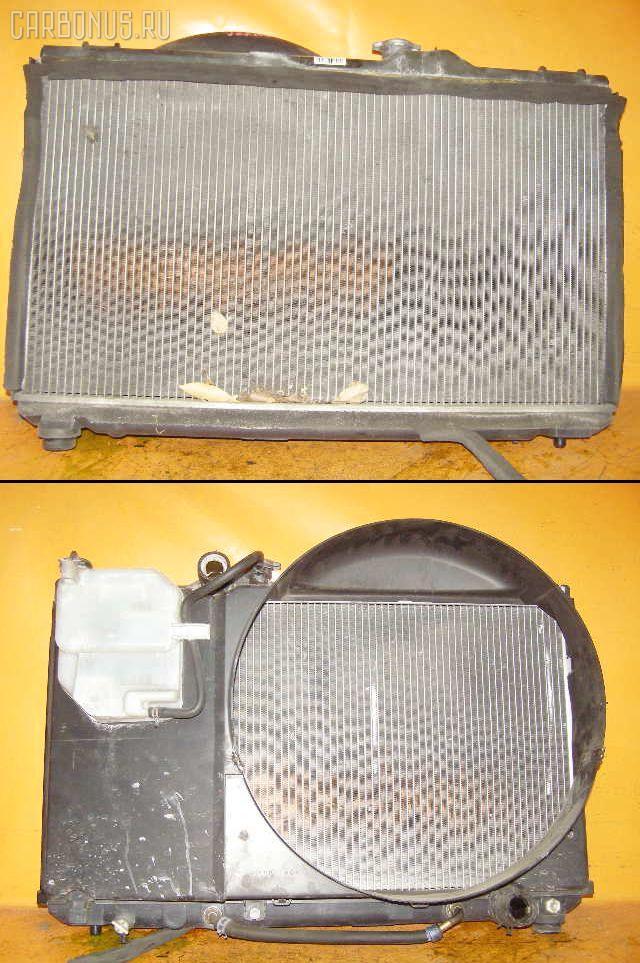 Радиатор ДВС TOYOTA CRESTA JZX100 1JZ-GE. Фото 5