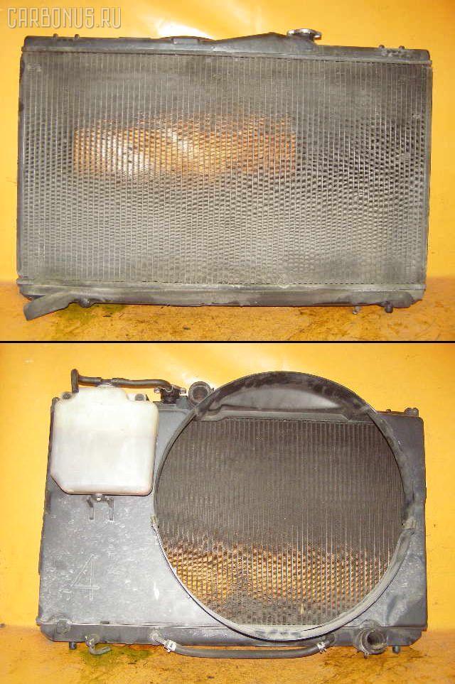 Радиатор ДВС TOYOTA MARK II GX90 1G-FE. Фото 10