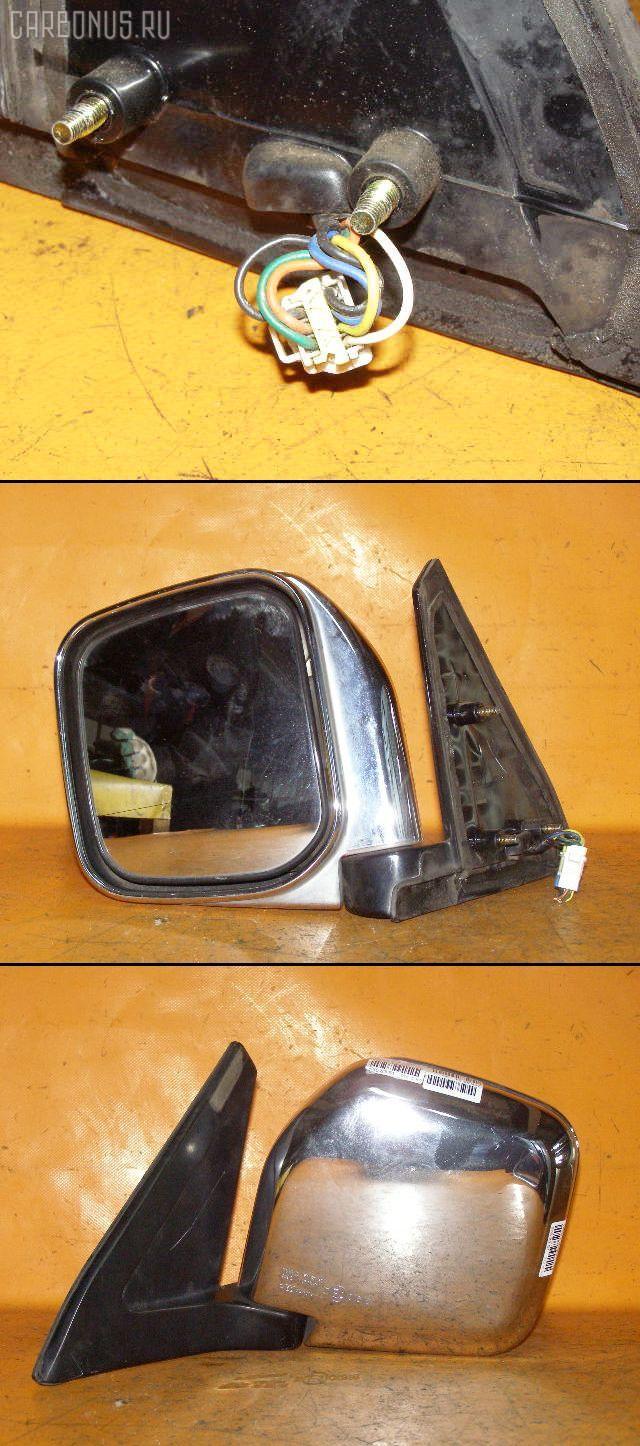 Зеркало двери боковой MITSUBISHI PAJERO V45W. Фото 4