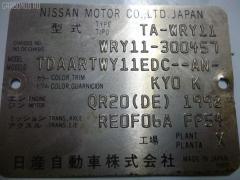 Тросик на коробку передач NISSAN WINGROAD WRY11 QR20DE Фото 3