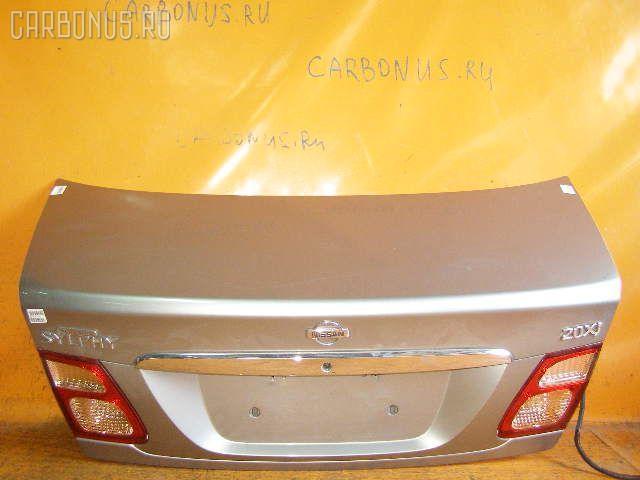 Крышка багажника NISSAN BLUEBIRD SYLPHY TG10. Фото 11