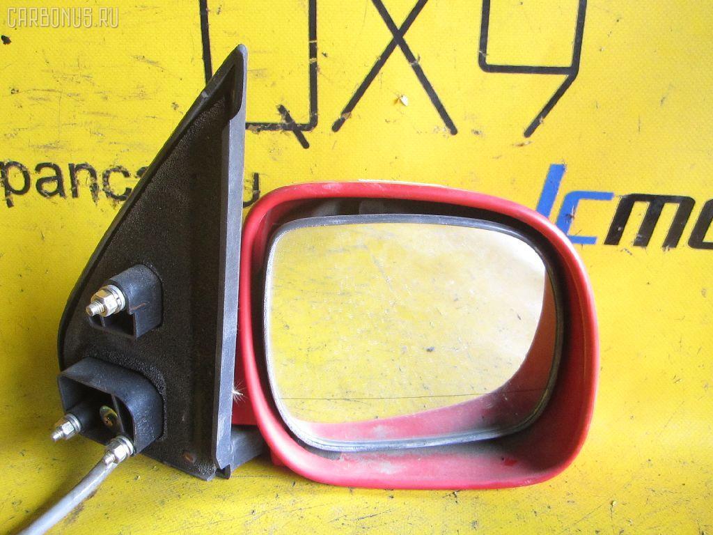 Зеркало двери боковой TOYOTA CAMI J100E. Фото 9