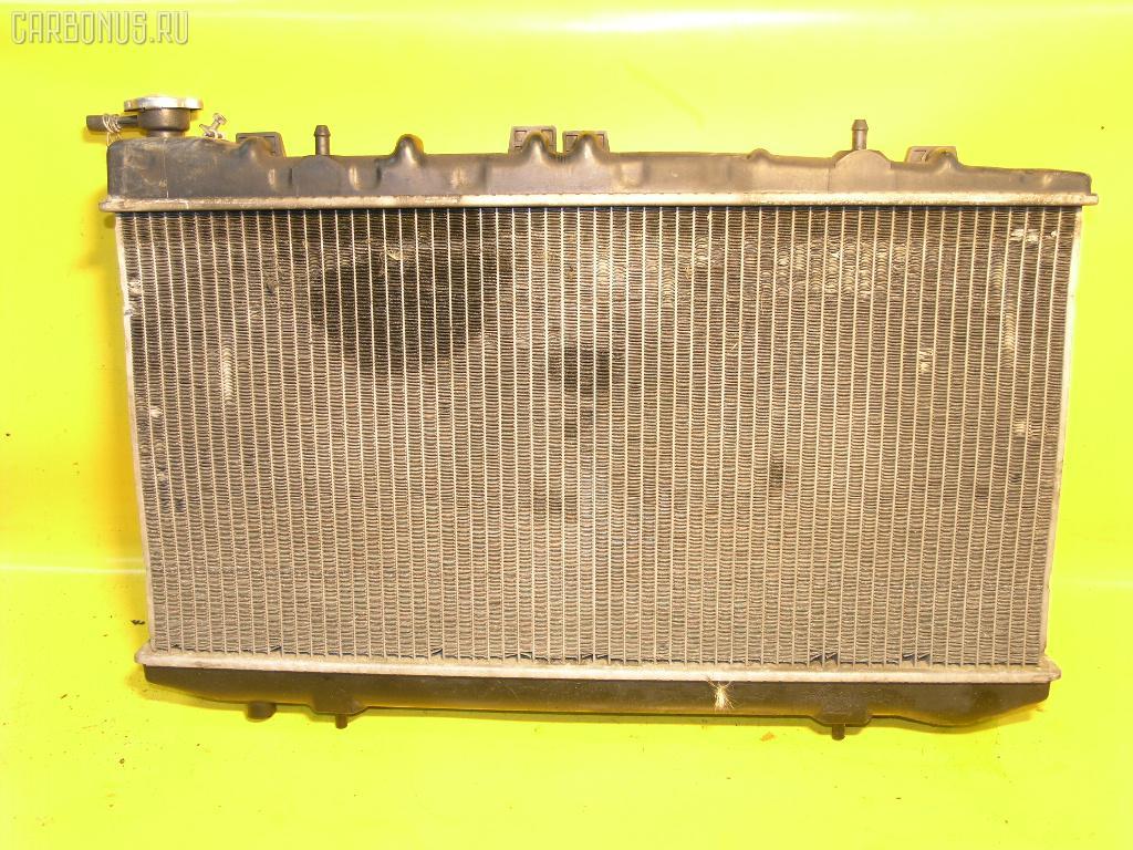 Радиатор ДВС NISSAN WINGROAD WFNY10 GA15DE. Фото 1