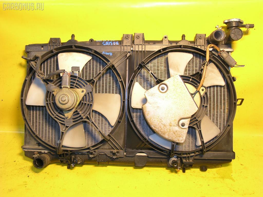 Радиатор ДВС NISSAN WINGROAD WFNY10 GA15DE. Фото 2