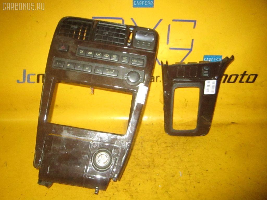 Консоль магнитофона TOYOTA CHASER GX90. Фото 2