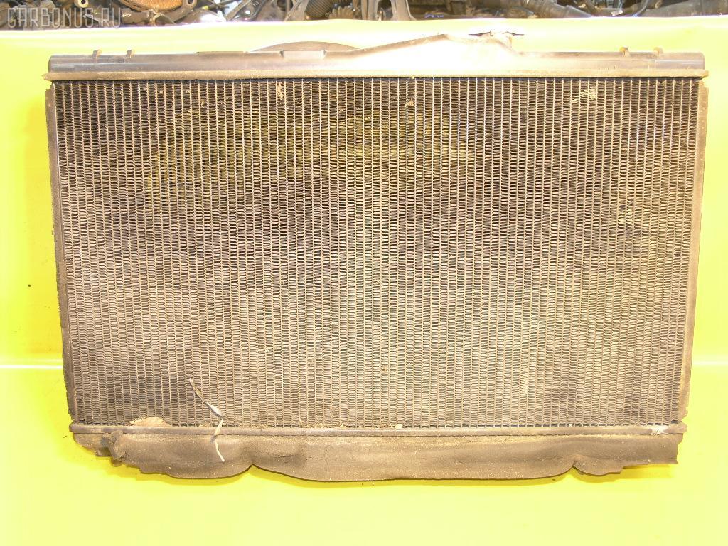 Радиатор ДВС TOYOTA CHASER GX90 1G-FE. Фото 5