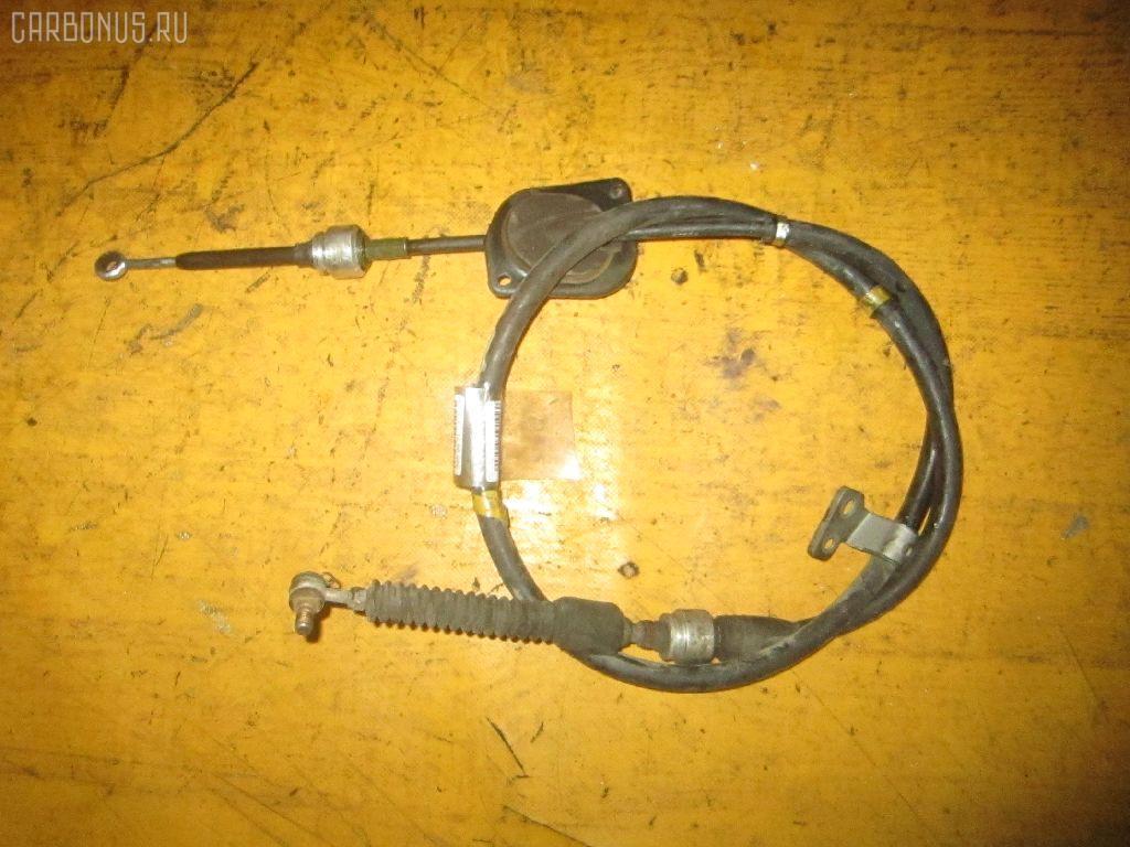 Тросик на коробку передач TOYOTA VISTA SV40 4S-FE. Фото 1