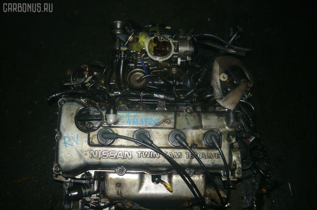 Двигатель NISSAN AD VAN VFY10 GA15DS. Фото 3