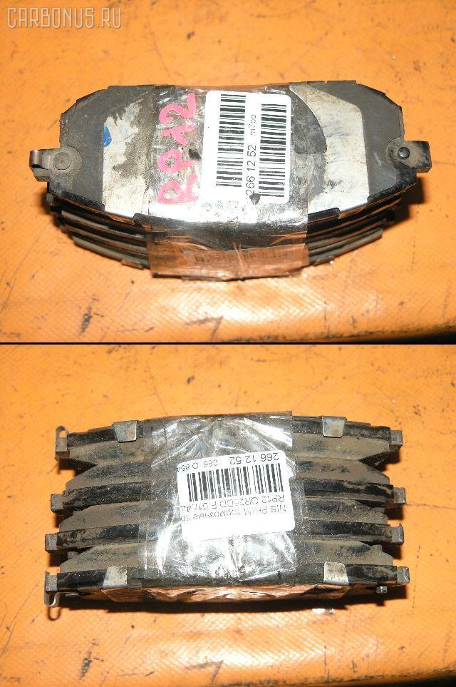 Тормозные колодки NISSAN PRIMERA TP12 QR20DE. Фото 6
