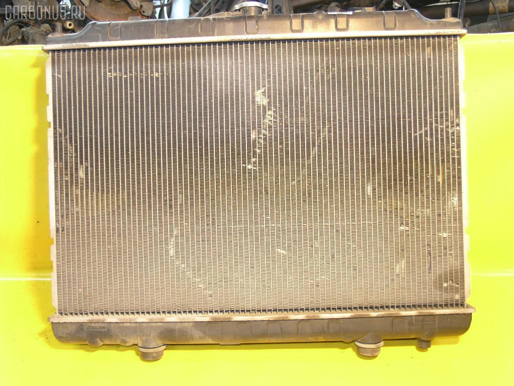 Радиатор ДВС NISSAN PRESAGE NU30 KA24DE. Фото 2