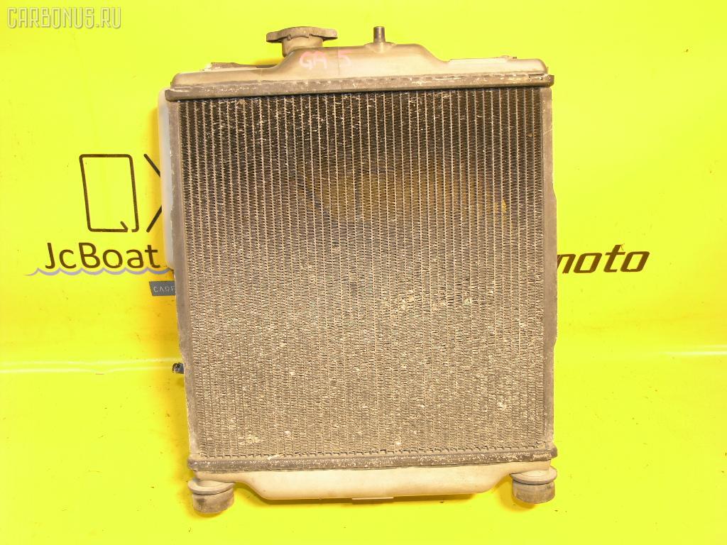 Радиатор ДВС HONDA LOGO GA5 D13B. Фото 1