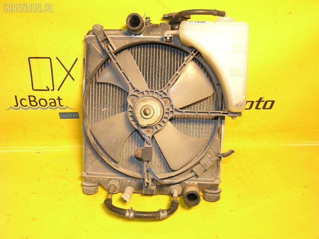Радиатор ДВС HONDA LOGO GA5 D13B. Фото 2
