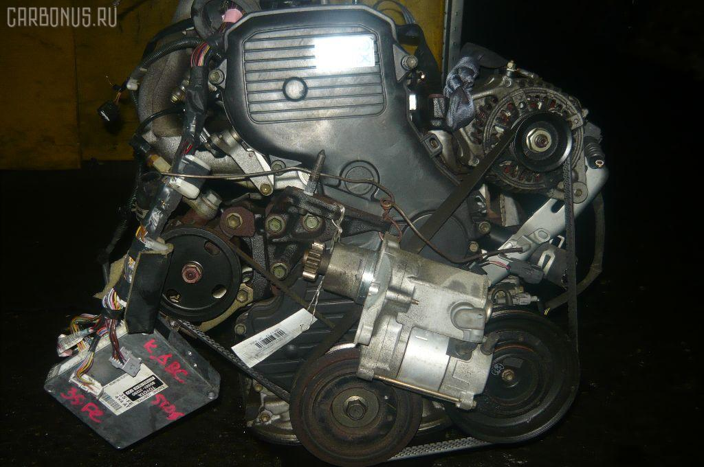Двигатель TOYOTA CORONA PREMIO ST215 3S-FE. Фото 10