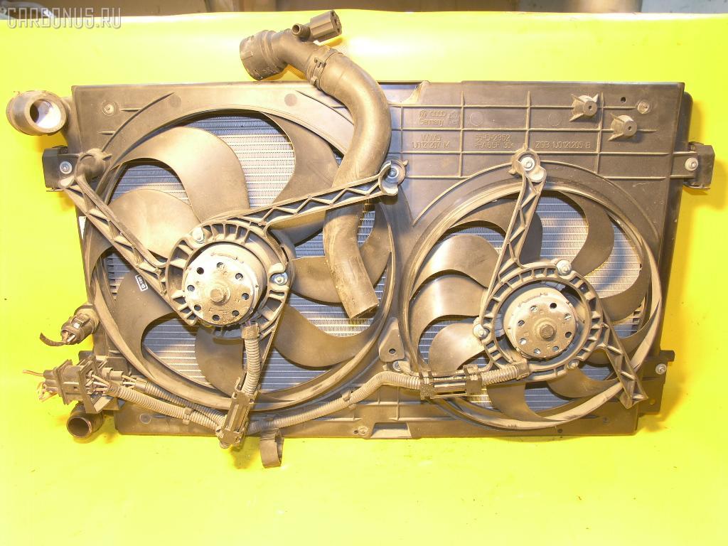 Радиатор ДВС AUDI A3 8LAGN AGN. Фото 2