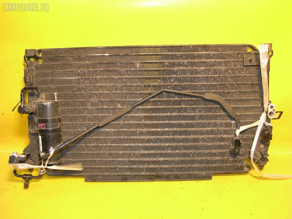 Радиатор кондиционера TOYOTA MARK II GX81 1G-FE. Фото 4