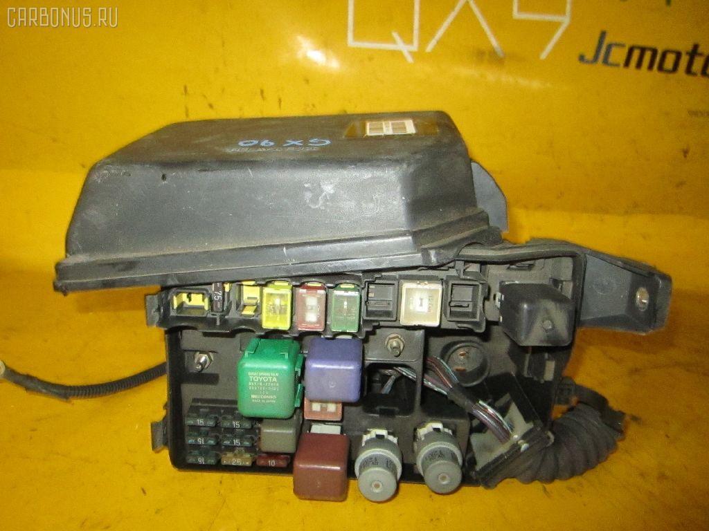 Блок предохранителей TOYOTA MARK II GX90 1G-FE. Фото 4