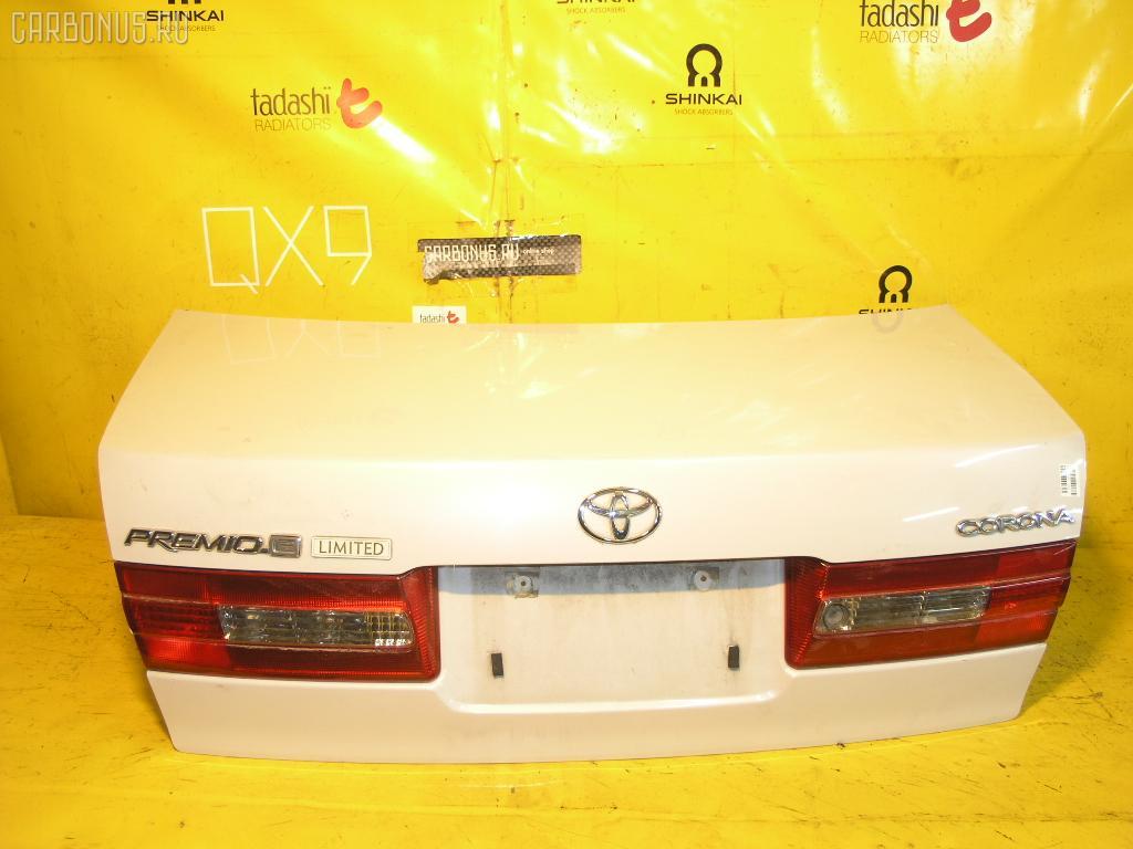 Крышка багажника TOYOTA CORONA PREMIO ST215. Фото 8
