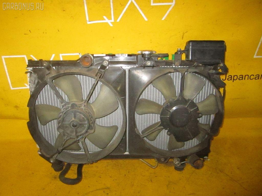 Радиатор ДВС TOYOTA CALDINA ST195G 3S-FE. Фото 5