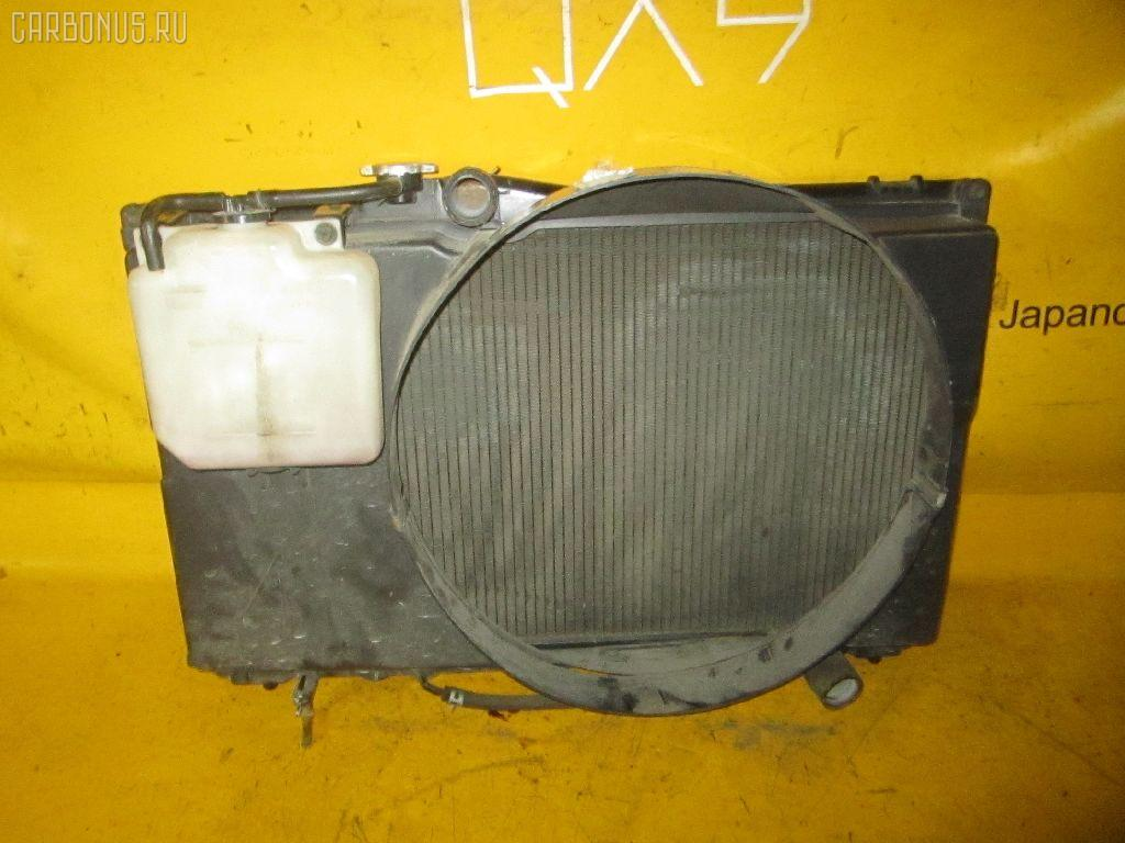 Радиатор ДВС TOYOTA CRESTA GX90 1G-FE. Фото 2