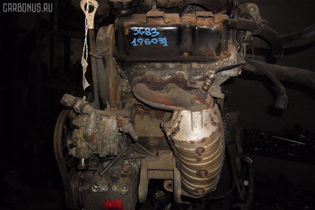 Двигатель MITSUBISHI EK WAGON H81W 3G83. Фото 1