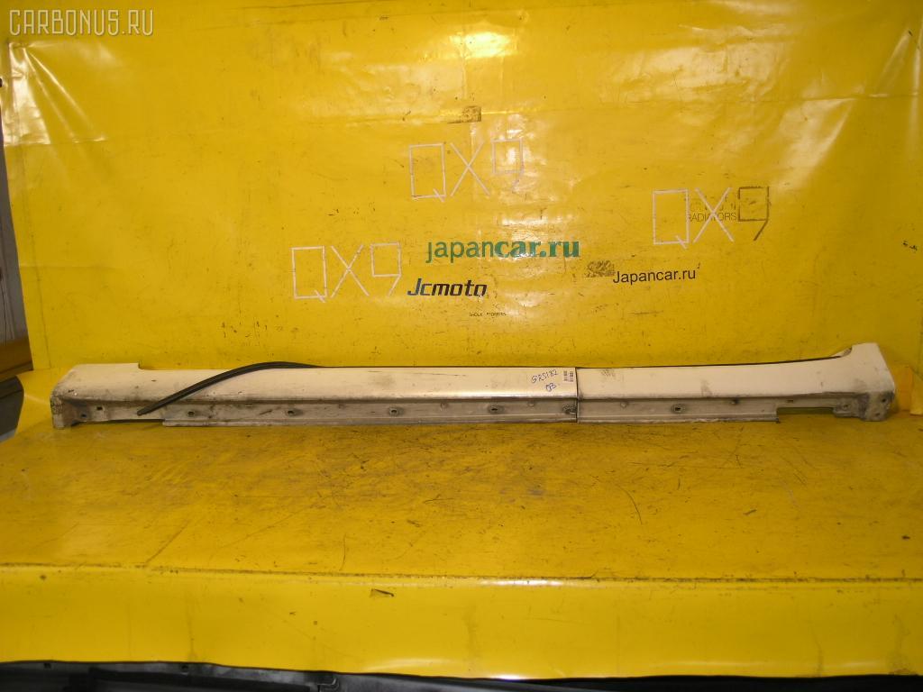 Порог кузова пластиковый ( обвес ) TOYOTA CROWN GRS182 Фото 3