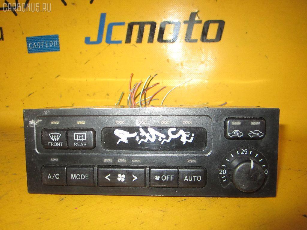 Блок управления климатконтроля TOYOTA IPSUM SXM10G 3S-FE. Фото 5