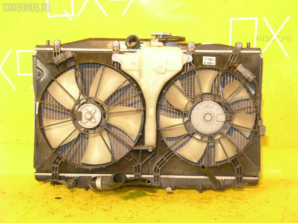 Радиатор ДВС HONDA ACCORD WAGON CM2 K24A. Фото 3