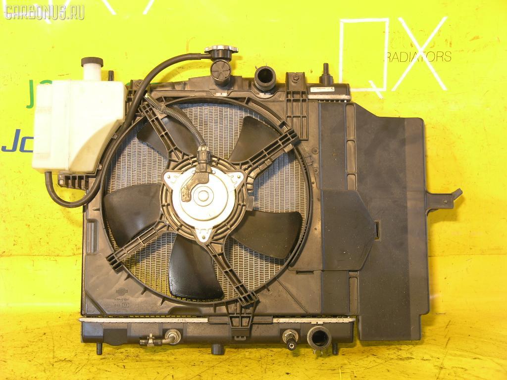 Радиатор ДВС NISSAN MARCH BNK12 CR14DE. Фото 4