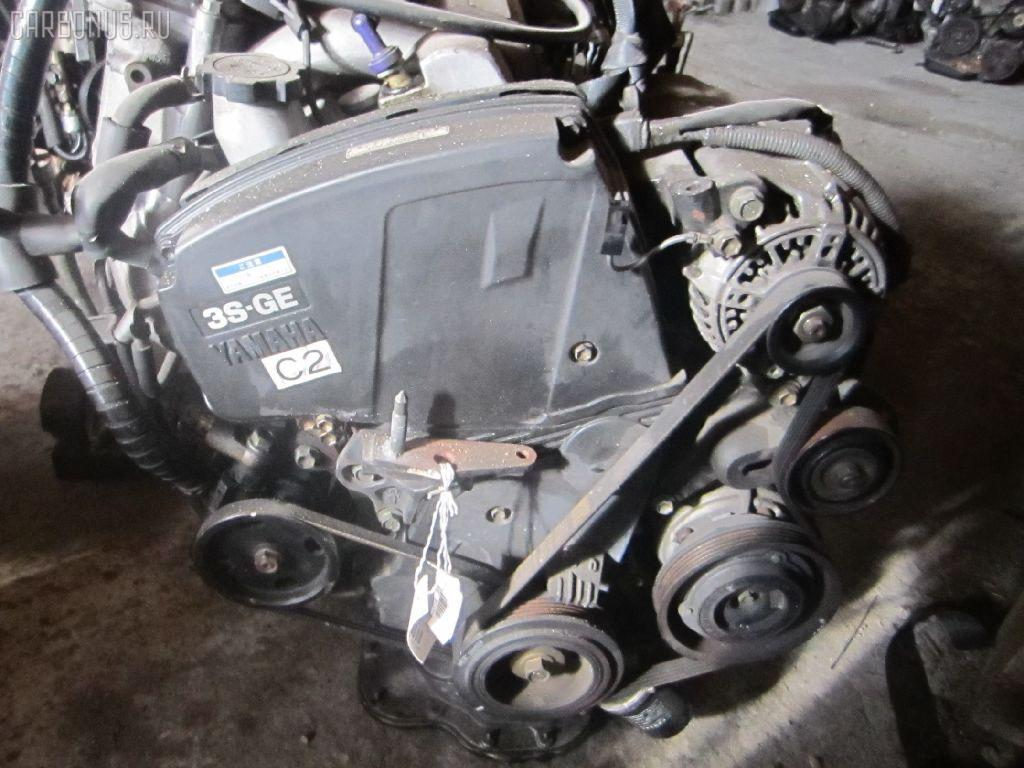 Двигатель TOYOTA CALDINA ST195G 3S-GE. Фото 1