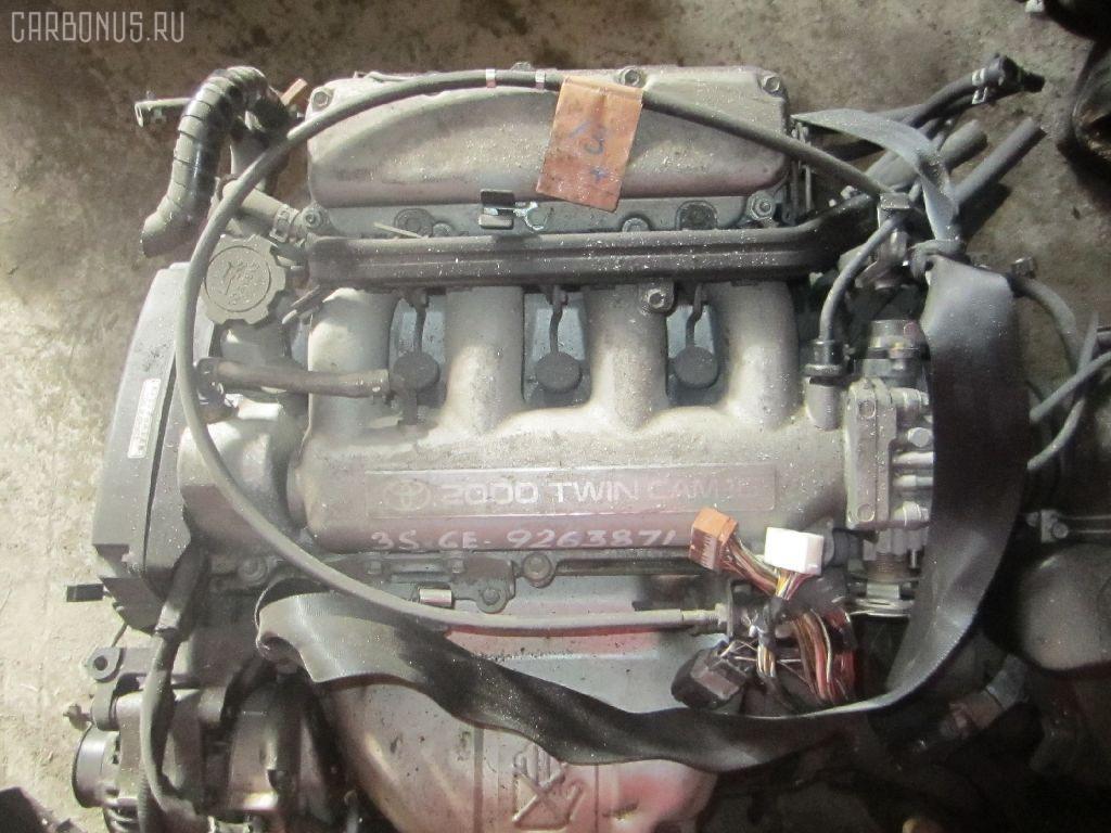Двигатель TOYOTA CALDINA ST195G 3S-GE. Фото 5