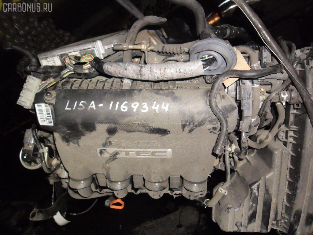 Двигатель HONDA FIT GD3 L15A. Фото 3
