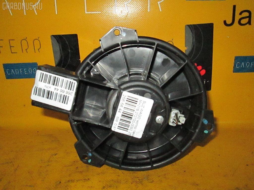 Мотор печки SUZUKI WAGON R MH21S. Фото 11