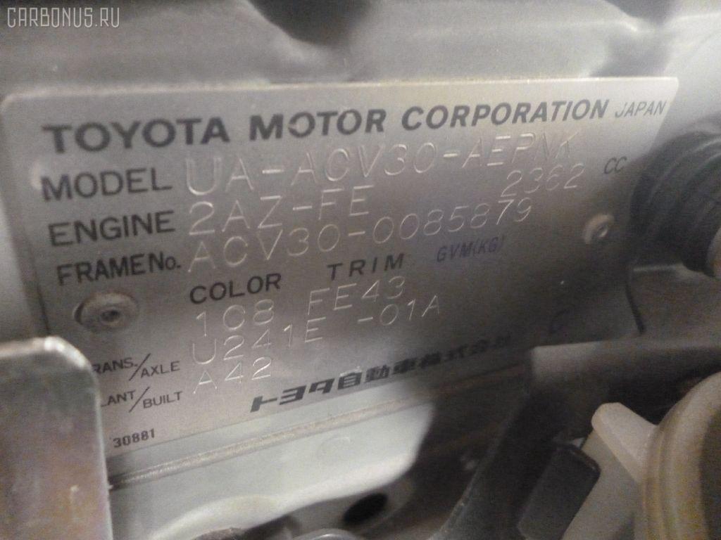 Спидометр TOYOTA CAMRY ACV30 2AZ-FE Фото 7