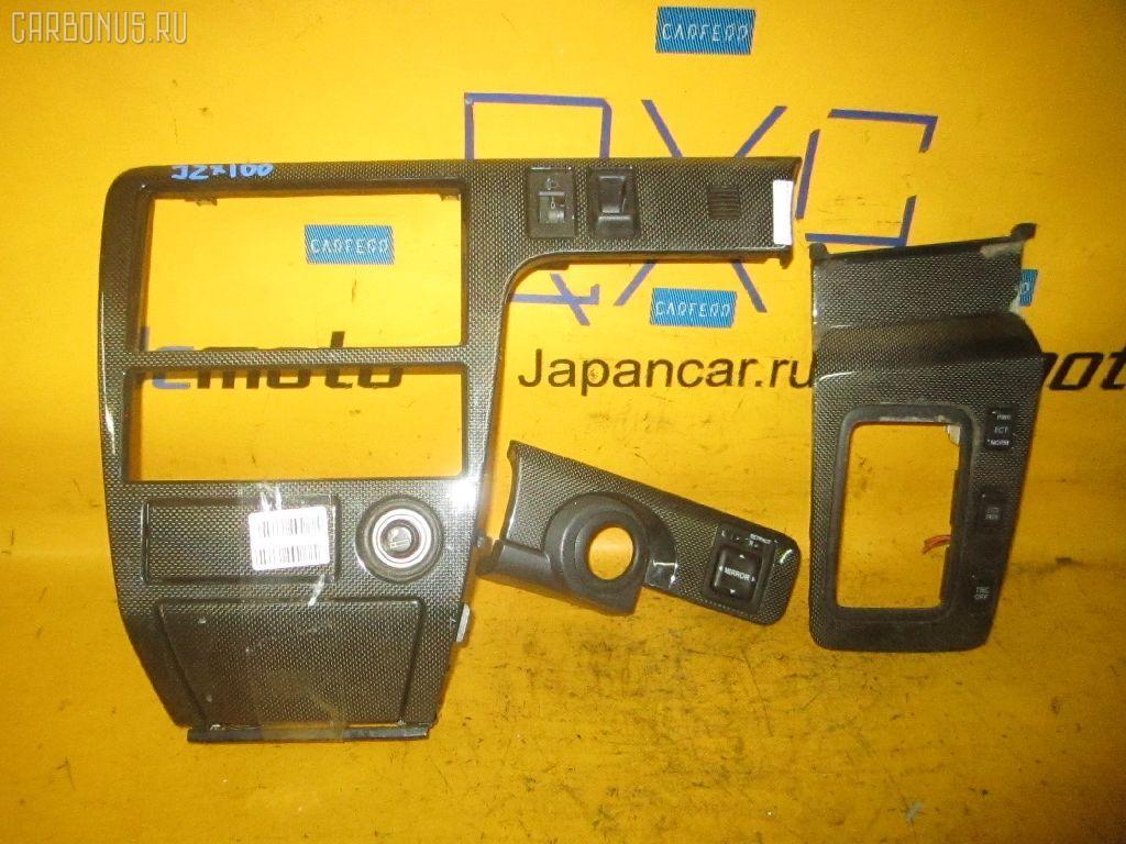 Консоль магнитофона TOYOTA CHASER JZX100. Фото 8