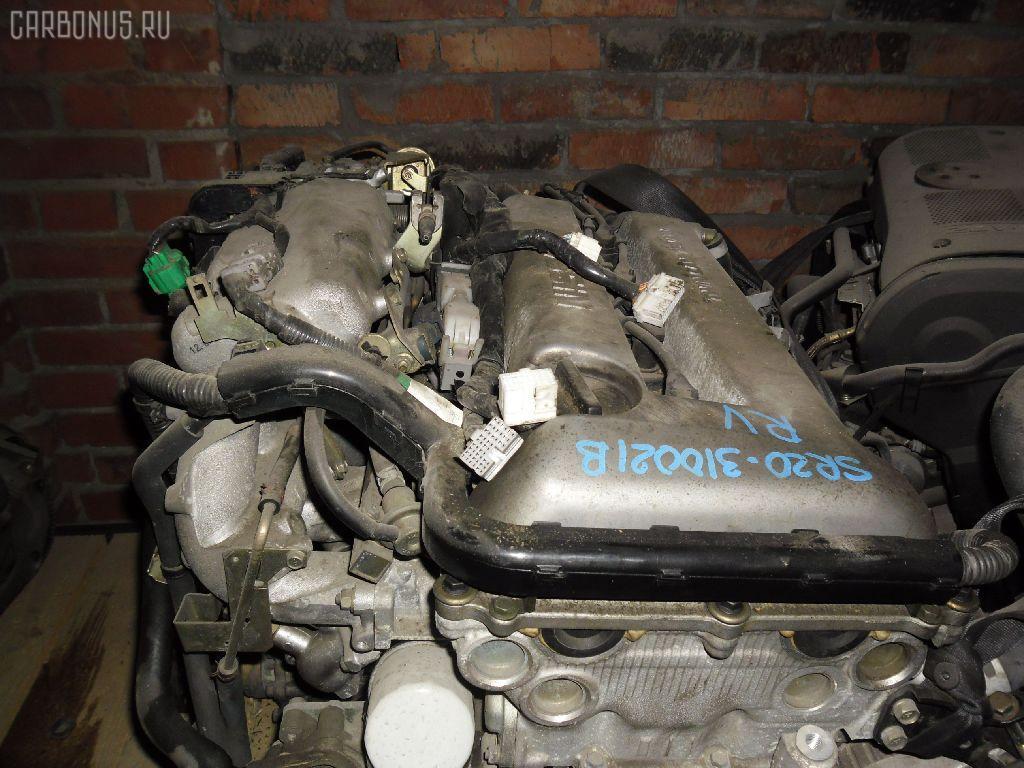 Двигатель NISSAN AVENIR PNW11 SR20DE. Фото 5